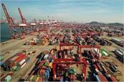 china s exports dip in december worst performance of two years