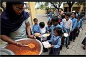 report in the mid day meal case government high court