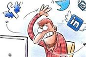 70 of workers are busy on social media at the time of duty