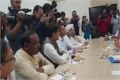 haryana coordination committee meeting in delhi begins