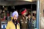 police checking in pathankot bus stand
