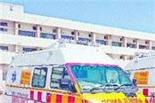 now the private ambulance drivers will not run
