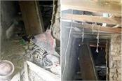 gas cylinder blast fly roof of kitchen