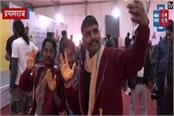 hand painted painting in kumbh guinness book of world record will be recorded