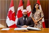 jagmeet singh of indian origin created history in canada s house of commons