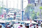 city traffic divert drivers roots