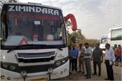 7 private buses running without permits seized