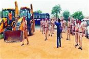 govind dham demolished by administration