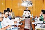chief secretary dr dk tiwari alert concern deptts consider possibility drying