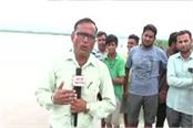 public scared by yamuna river storm administration accused of not helping