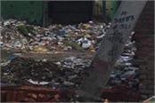 town cremation ghat dump again brings garbage