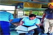 checking campaign carried out in school buses 18 challan cut