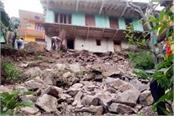 house on the verge of collapse