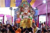 during ganeshotsav wall collapsed on pandal two women died