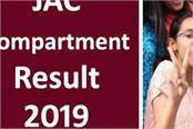 jharkhand jac 2019 result of jharkhand 10th and 12th compartment exam released
