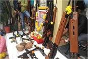 indore police worships arms with maa kalika
