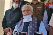 cm khattar s statement on the farmer protest