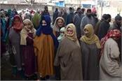 people s enthusiasm in ddc election 52 percent voting in first phase