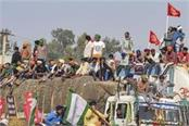 kisan agitation delhi police fir in many sections including riot