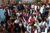 jhansi uproar during counting of votes police filed case
