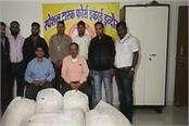 major action of indore stf 2 accused arrested with 1 crore hemp