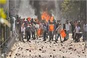 delhi violence stone pelting again in maujpur many metro stations closed