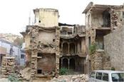 ruins buildings become a problem for the residents improvements