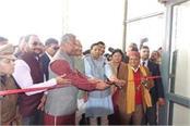 rawat laid foundation of 44 schemes