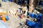 dairy raid in bhind