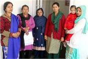 affected families met dc chamba about complaint of revenue department