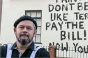 uk painter angrily writes message on the wall of owner s house