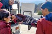 5 patient airlift in emergency
