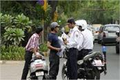 police continue to clamp down on violators of rules challans of 11 bikes