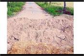 roads dug boundaries sealed in fatehabad haryana