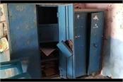 thieves steal goods worth lakhs of rupees from school