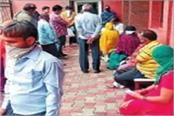 social distancing not being followed in private hospitals no crowd control