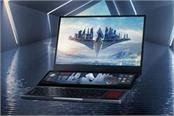 asus rog zephyrus duo 15 dual screen gaming laptop reveled