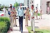 dig visited aiims gave directions to officials