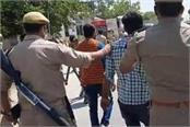 crowd attacked police in bareilly amid lockdown sp also injured