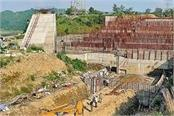 government resumed construction work on the shahpurkandi dam
