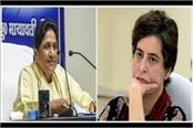 bus politics congress stuck in mayawati s questions