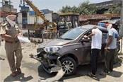 pathankot chau had a doctor s car accident victim