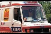 woman gives birth to a newborn in ambulance 108
