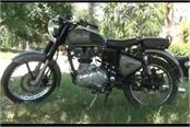 b tech student stole bullet bike to complete hobby