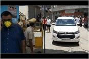 bjp mla breaks lockdown for third time entered into containment zone