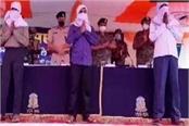 three self styled cpi maoist commanders surrender