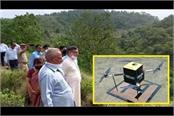 seeds seeded by drone in yamunanagar haryana news