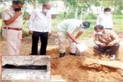 excavation of graves on imam s spot 2 dead bodies of 3 children