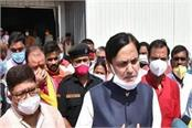 union minister inspects covid 19 hospital being built in muzaffarpur