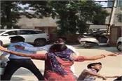 couple brutally beaten in ssp office video viral